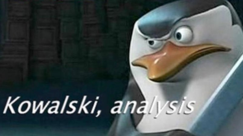 Image result for kowalski analysis