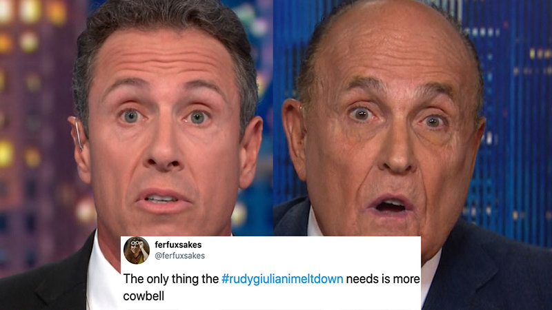Rudy Giuliani Did Not Have A Good Time On CNN Last Night