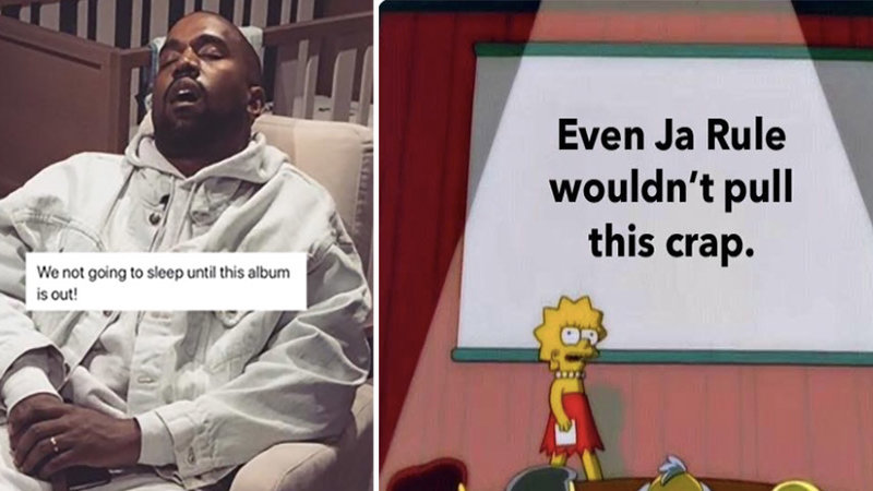 Twitter Trolled Kanye With Memes Until He Released His Album