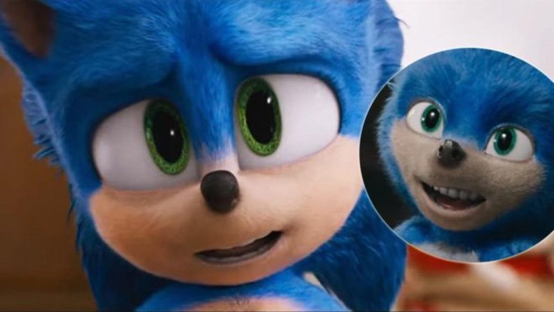 New Sonic The Hedgehog Movie Trailer Makes The Character Look Way Less Awful Know Your Meme