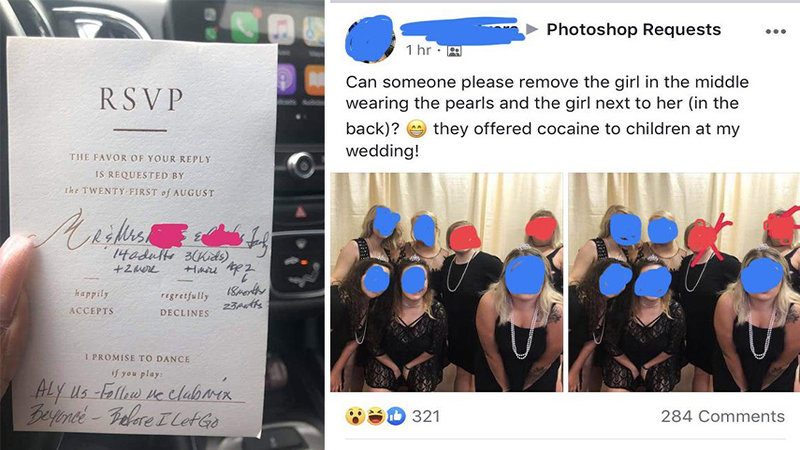 8 Tales Of Wedding Shaming That Are Well Deserved  Know Your Meme