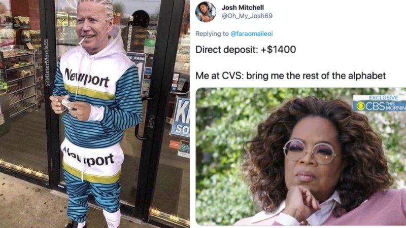moneybagg joe direct deposit memes