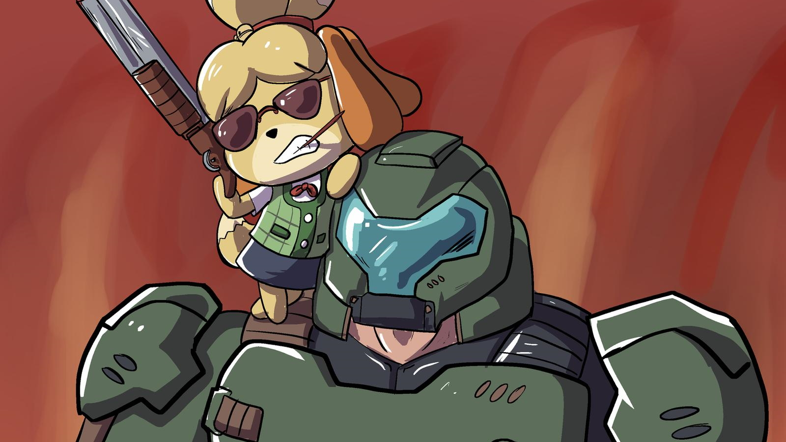 15 Doomguy And Isabelle Memes To Set You Up For Real Gamer Hours