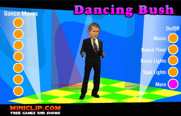 dancing bush game know your meme