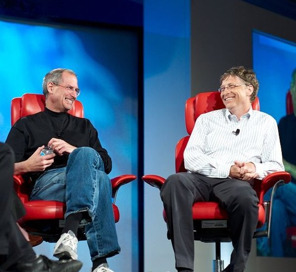 Steve Jobs Vs Bill Gates Image Gallery Know Your Meme
