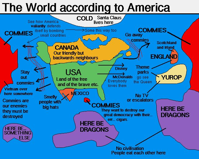The World According To | Know Your Meme