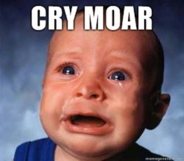 Image result for Cry More meme
