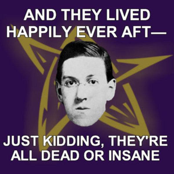 Risultati immagini per lovecraft meme