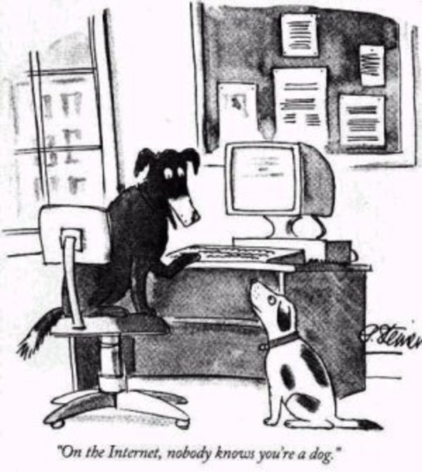 On the Internet, No Knows You're a Dog | Know Your Meme