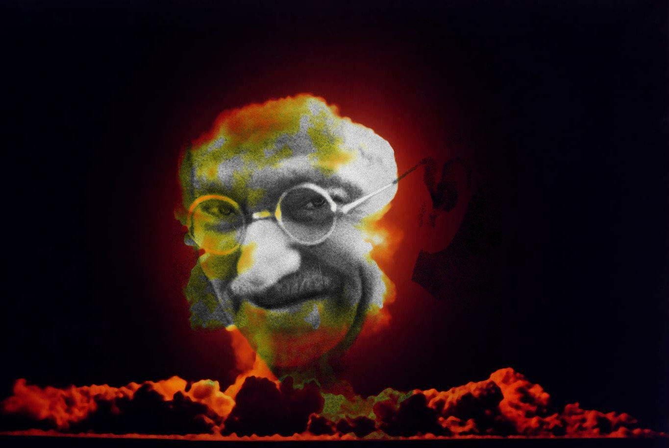 Nuclear Gandhi | Know Your Meme