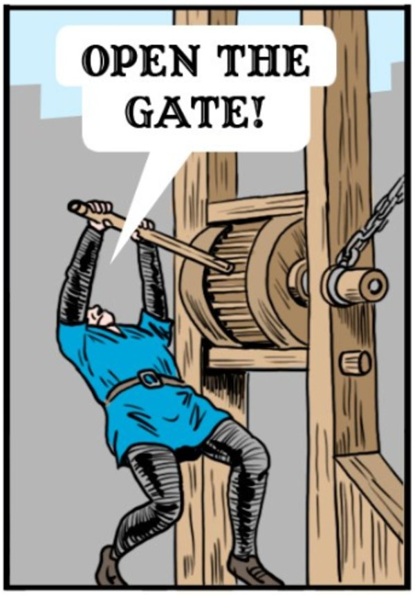 The Gates Are Open.Open The Gate Know Your Meme