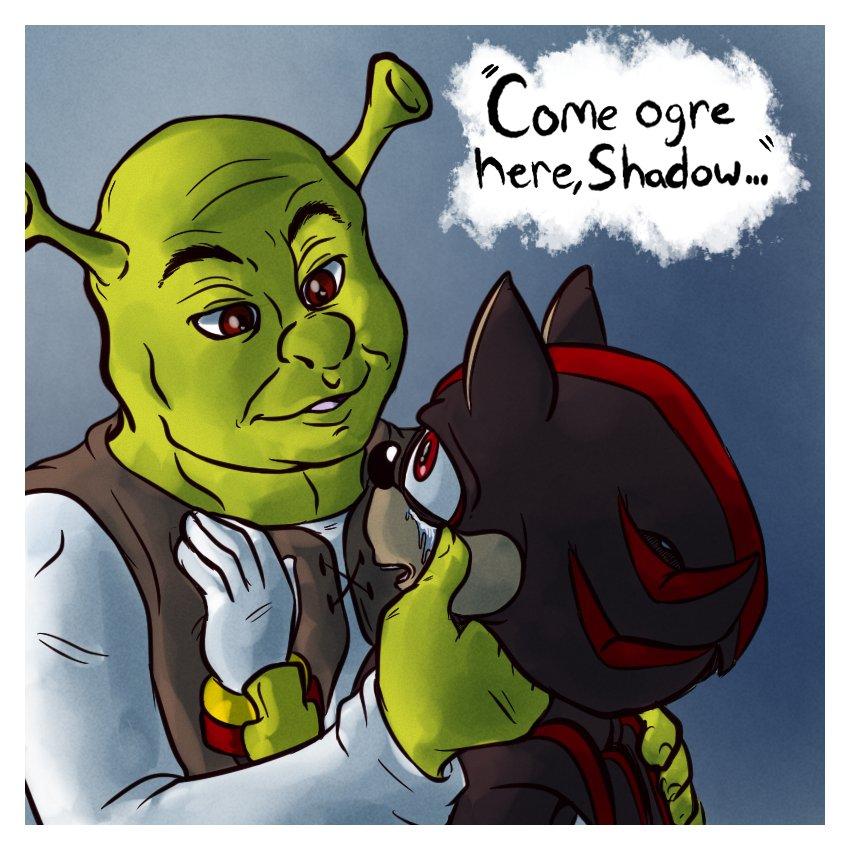 Shadow X Shrek Know Your Meme