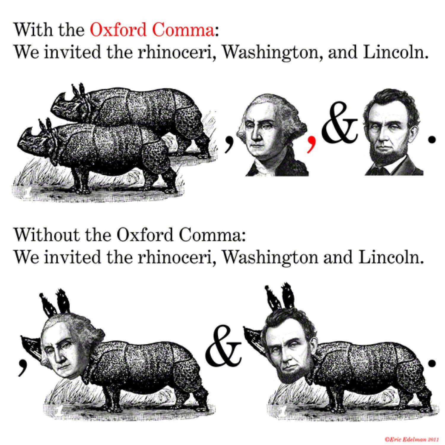 Oxford Comma | Know Your Meme