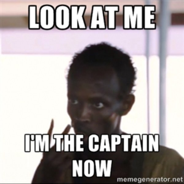 Image result for i'm the captain now
