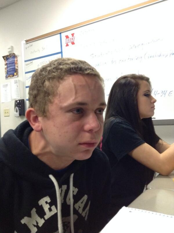 Trying to Hold a Fart Next to a Cute Girl in Class | Know Your Meme