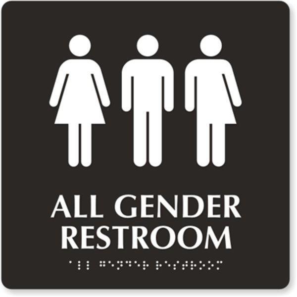 Transgender Bathroom Debate Image Gallery Know Your Meme - Gender neutral bathroom signs