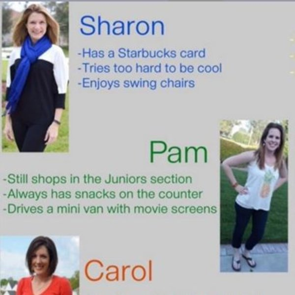 Which White Suburban Mom Are You?   Know Your Meme