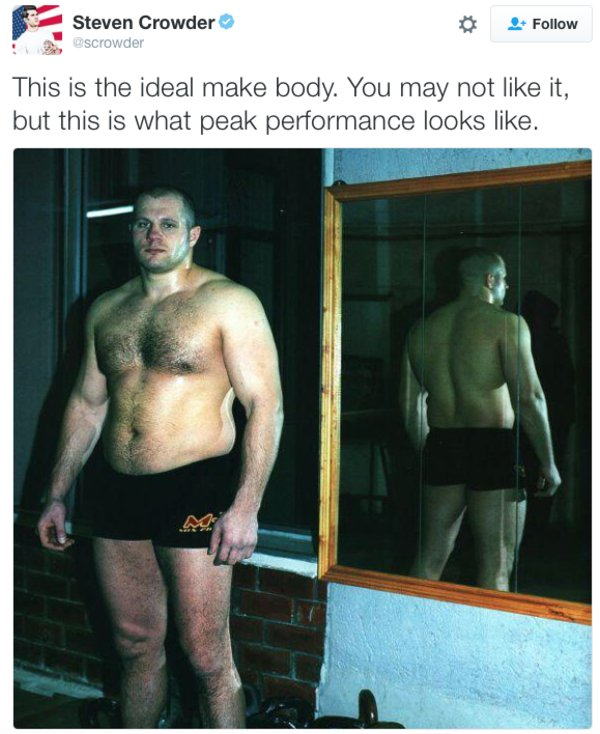 Male physical