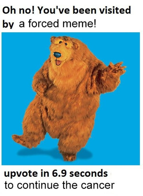 Bear In The Big Blue House Know Your Meme