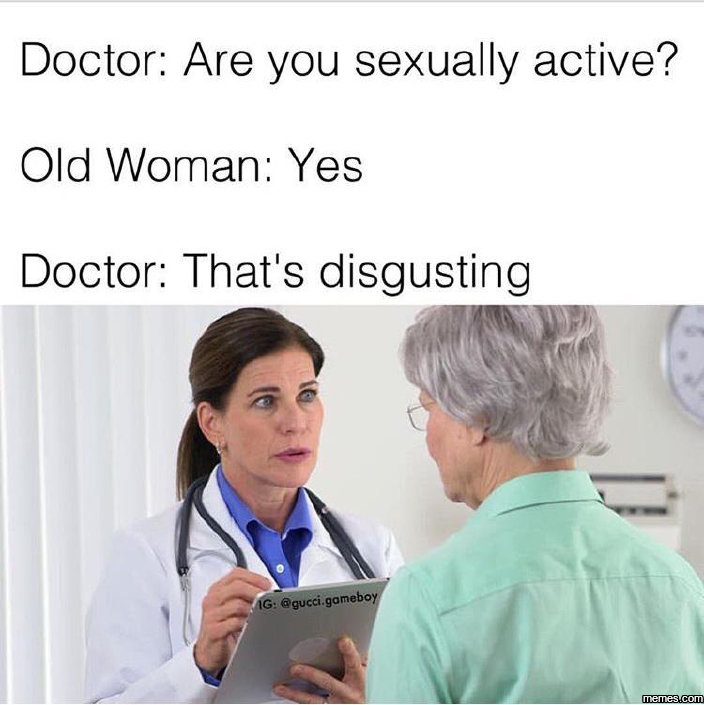 Not sexually active means