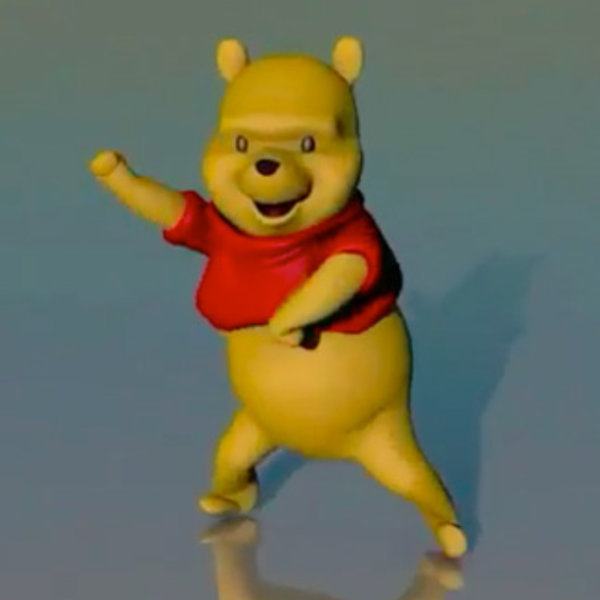 Winnie The Pooh Dancing Videos Know Your Meme