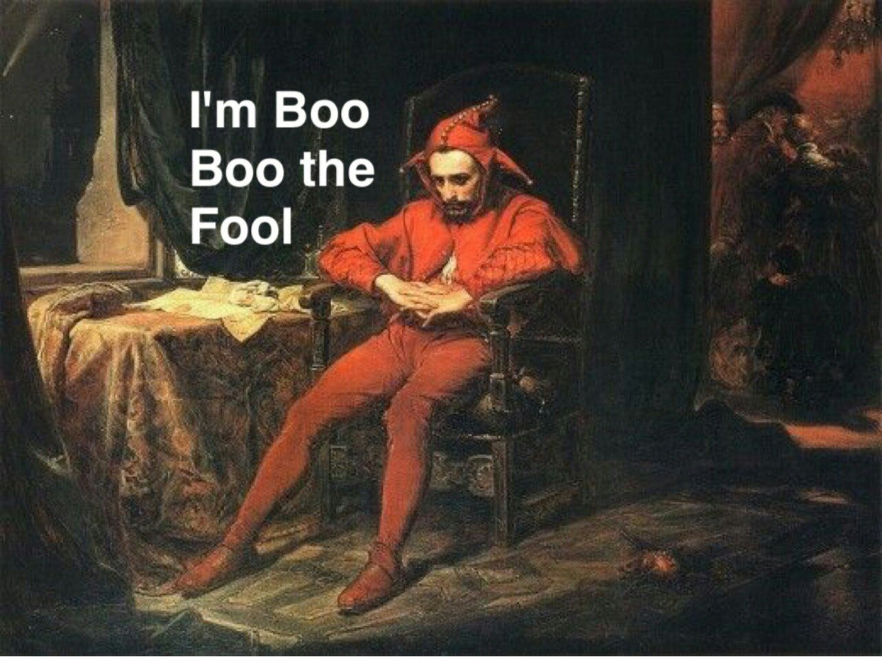 I am boo boo the fool