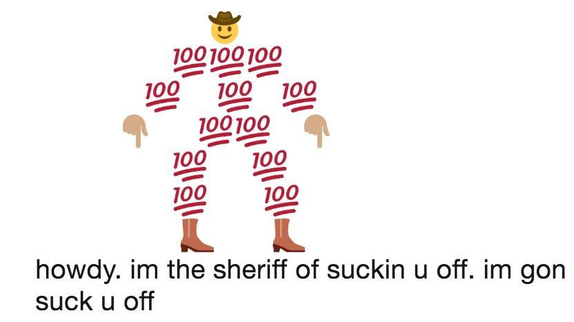 Emoji Sheriff | Know Your Meme