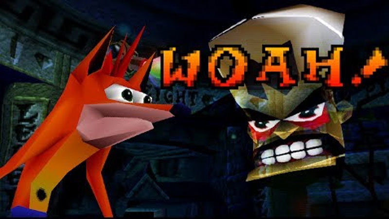 "Crash Bandicoot ""..."