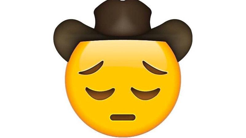sad cowboy emoji know your meme