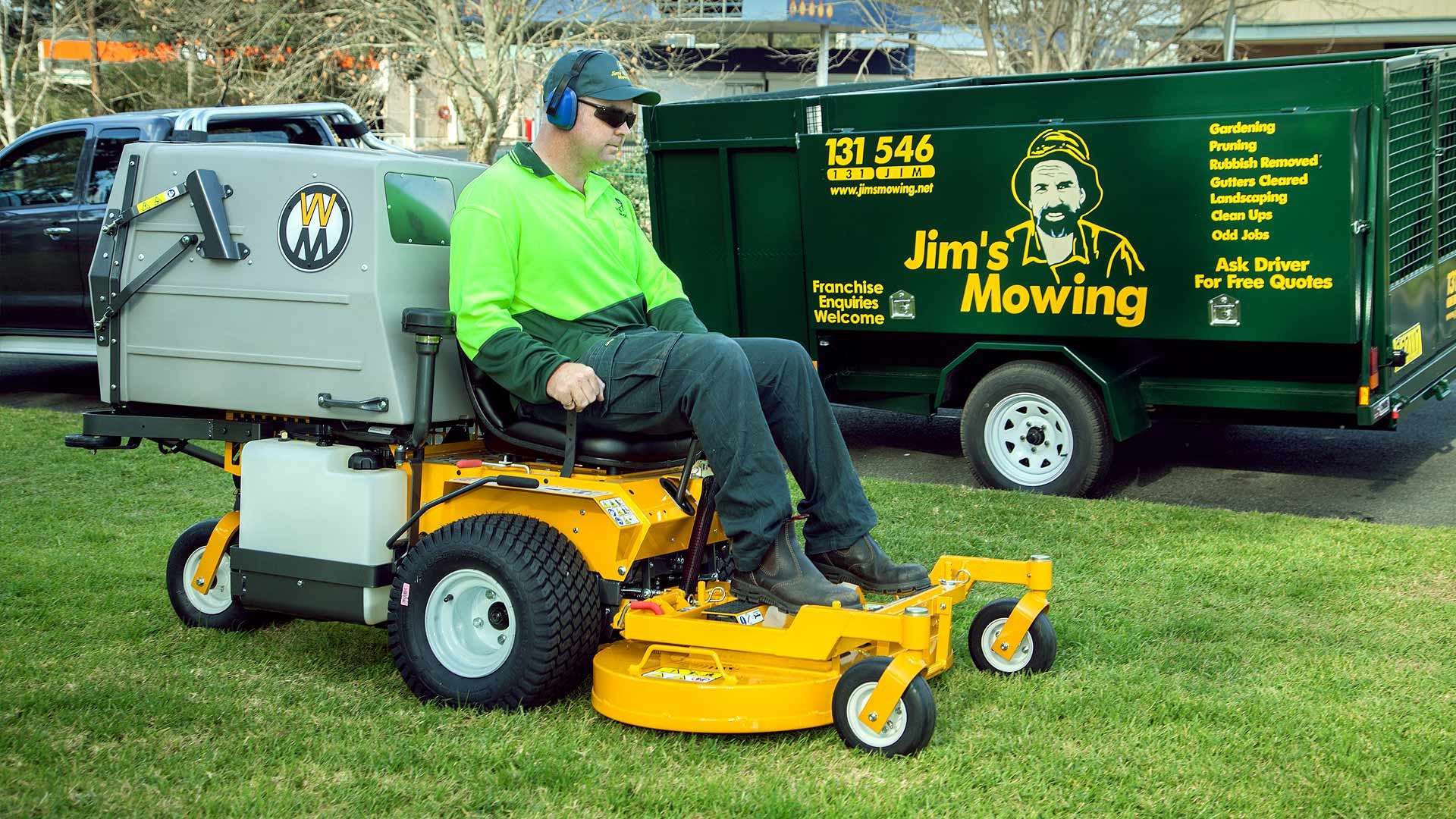 Jim S Mowing Logo Know Your Meme