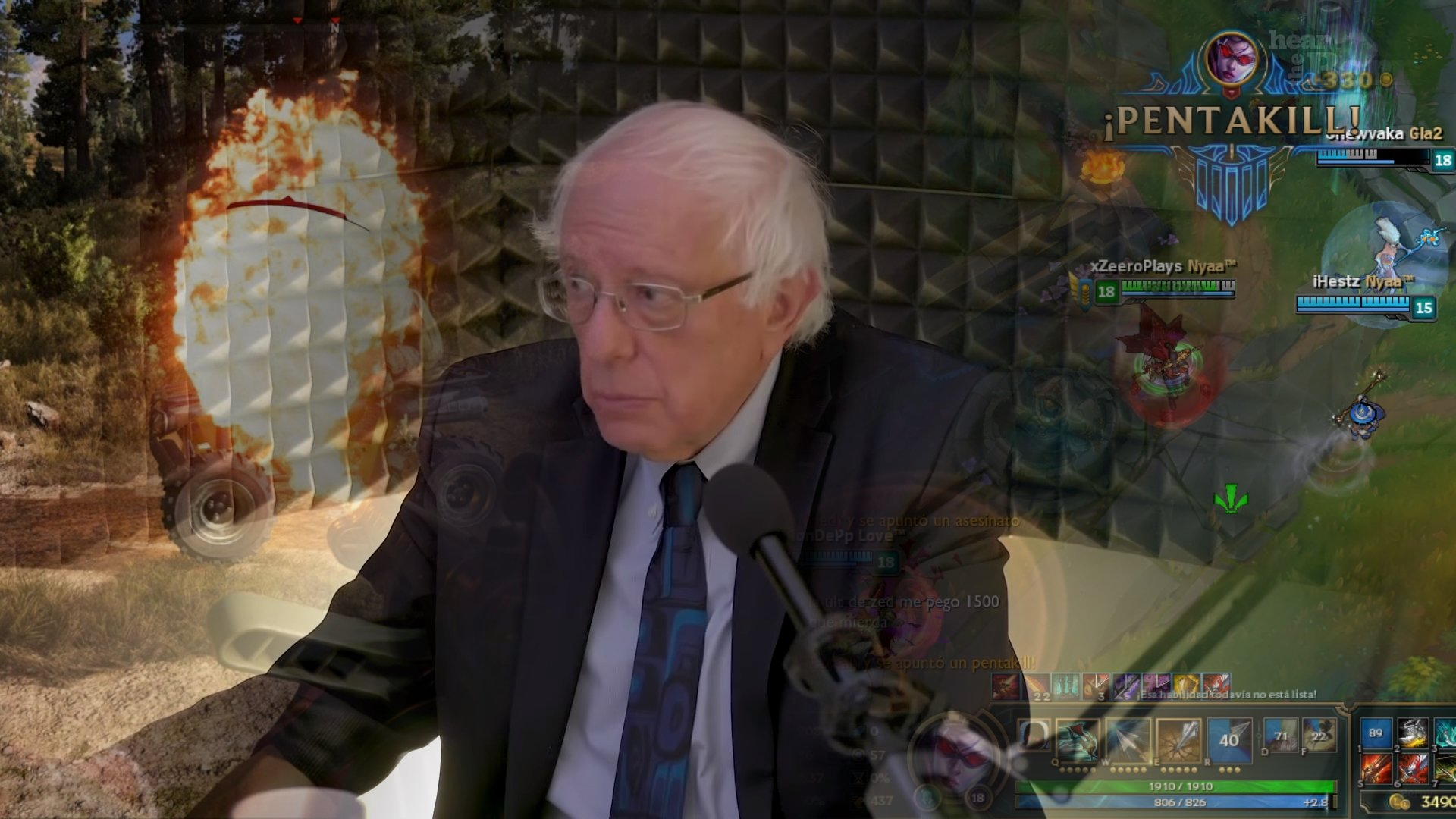 Bernie Sanders Twitch Channel Know Your Meme