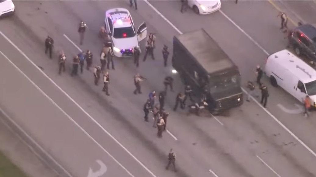 Florida UPS Truck Shootout