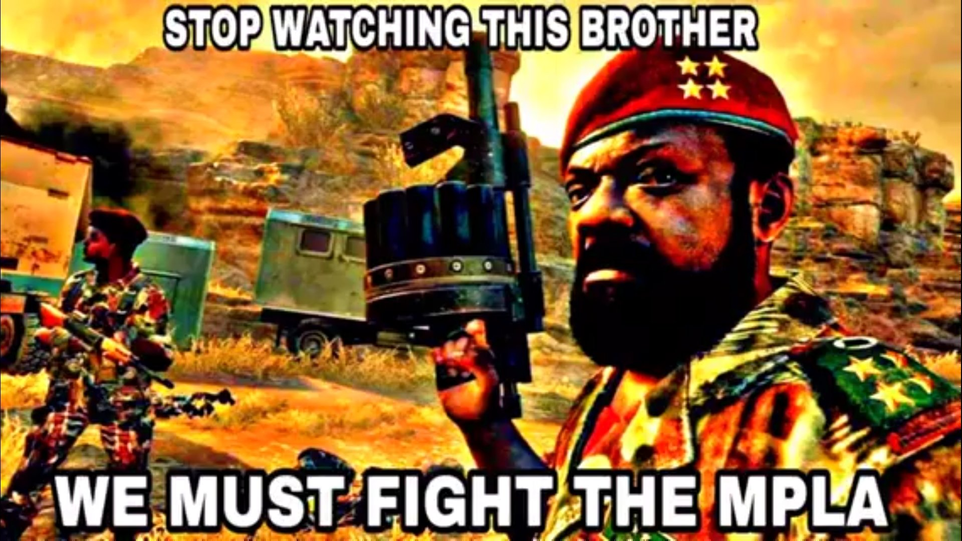 Death to the MPLA | Know Your Meme