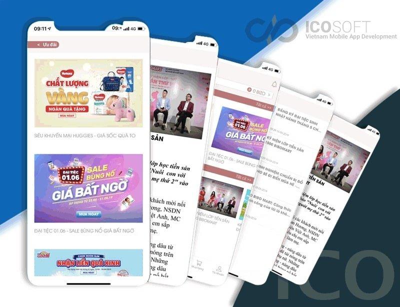 Làm App Ứng Dụng Di Động Trên iOS, Android Chuyên Nghiệp HCM