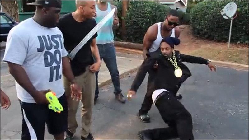 Fainting Black Guy