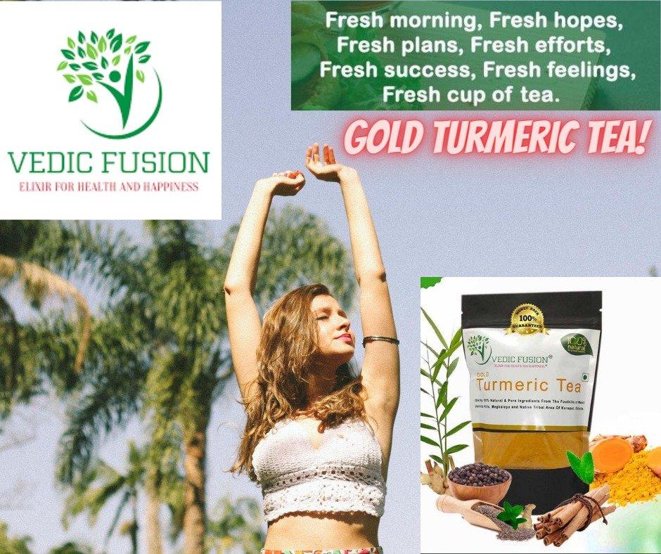 100% Natural Turmeric Tea