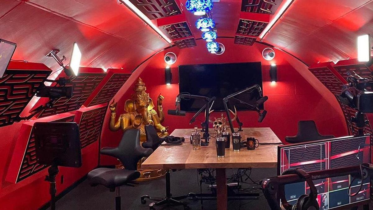 Joe Rogan Experience Texas Studio