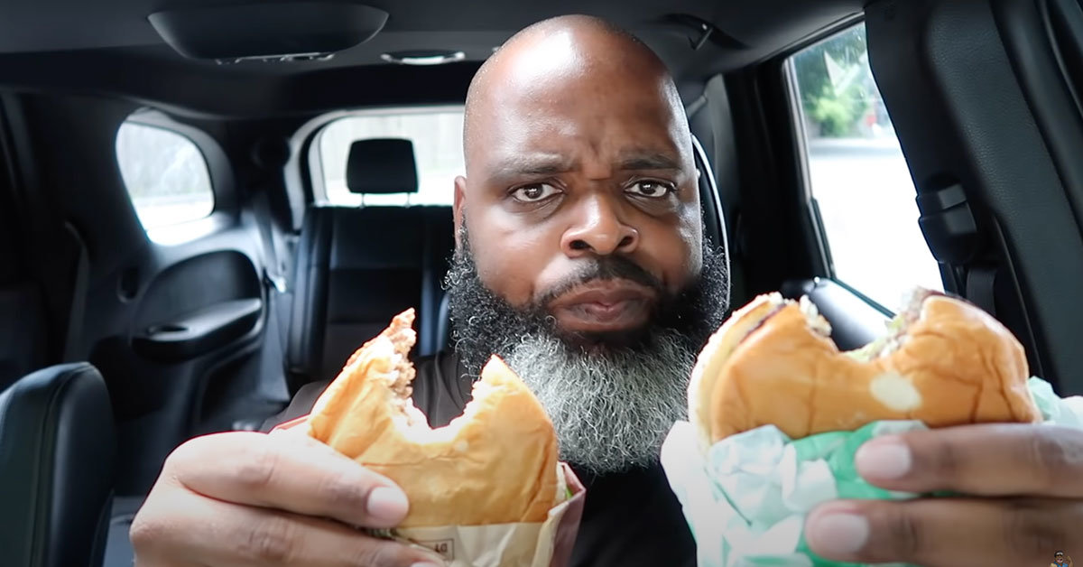 Social Media Foodie Reviewer, Brother Daym Drops, Wax Eloquent On Burger King Impossible Whopper