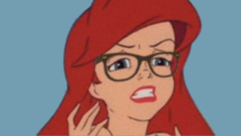 Hipster Mermaid / Hipster Ariel | Know Your Meme