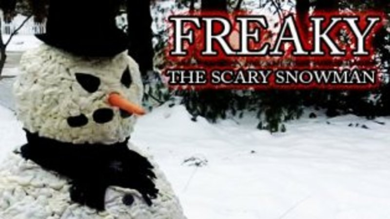 freaky the scary snowman know your meme