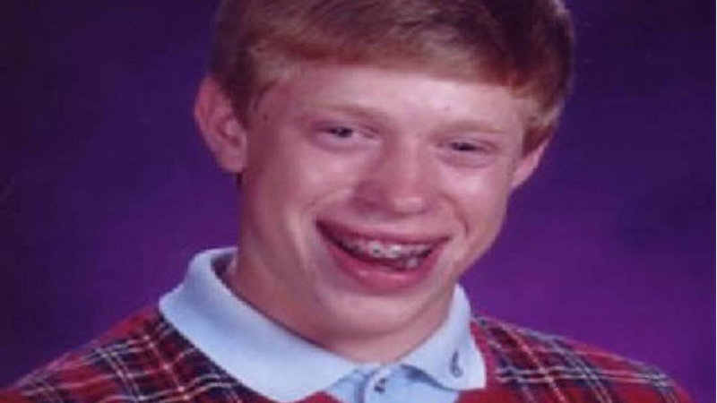 Bad Luck Brian | Know Your Meme