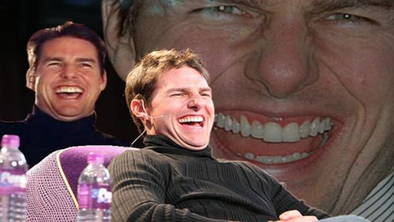 Image result for tom cruise laughing