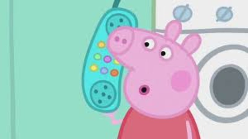 Peppa Pig Hanging Up Know Your Meme