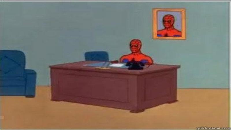 Spiderman Meme Desk Ikea Motiv Desk