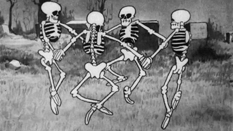 spooky scary skeletons know your meme