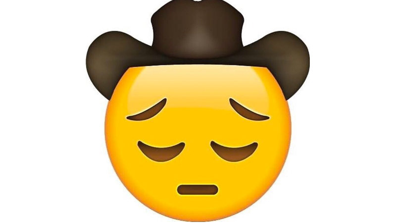 Sad Cowboy Emoji Know Your Meme