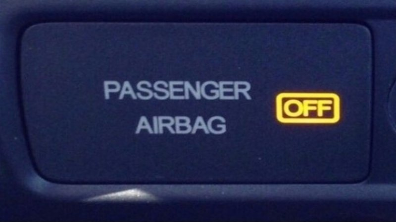 Image result for passenger airbag off