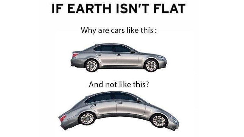 If Earth Isn't Flat | Know Your Meme
