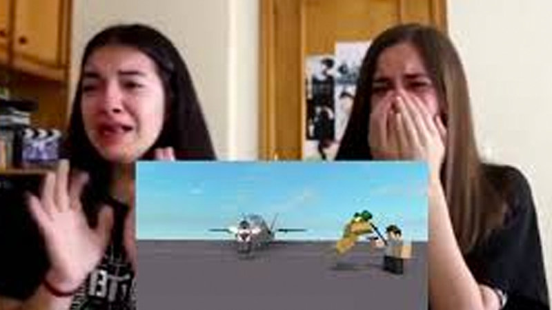 Two Girls Crying Reaction Know Your Meme