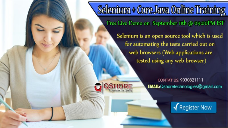 Selenium__core_java_online_training